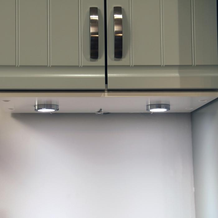 Belysning kök under skåp