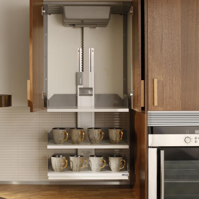 Wall Cabinet Lift Verti 831 Height Adjustable Frames
