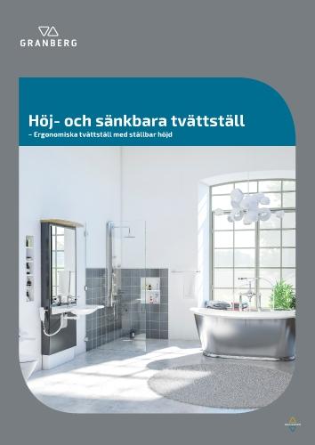 Granberg Höj- och sänkbara tvättställ 2020