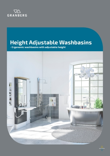 Granberg Height Adjustable Washbasins 2020