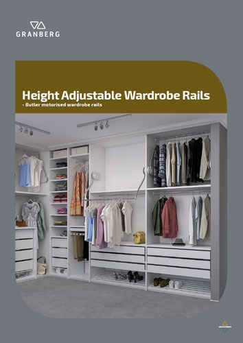 Height Adjustable Wardrobe Rails - Granberg Butler 2020