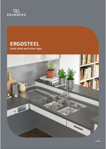 Granberg ERGOSTEEL - Inset sinks and mixer taps 2019/20