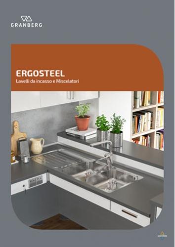 ERGOSTEEL - Lavelli da incasso e Miscelatori