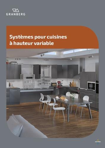 Systèmes pour cuisines à hauteur variable