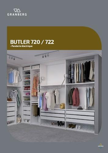 BUTLER 720 / 722 - Penderie électrique