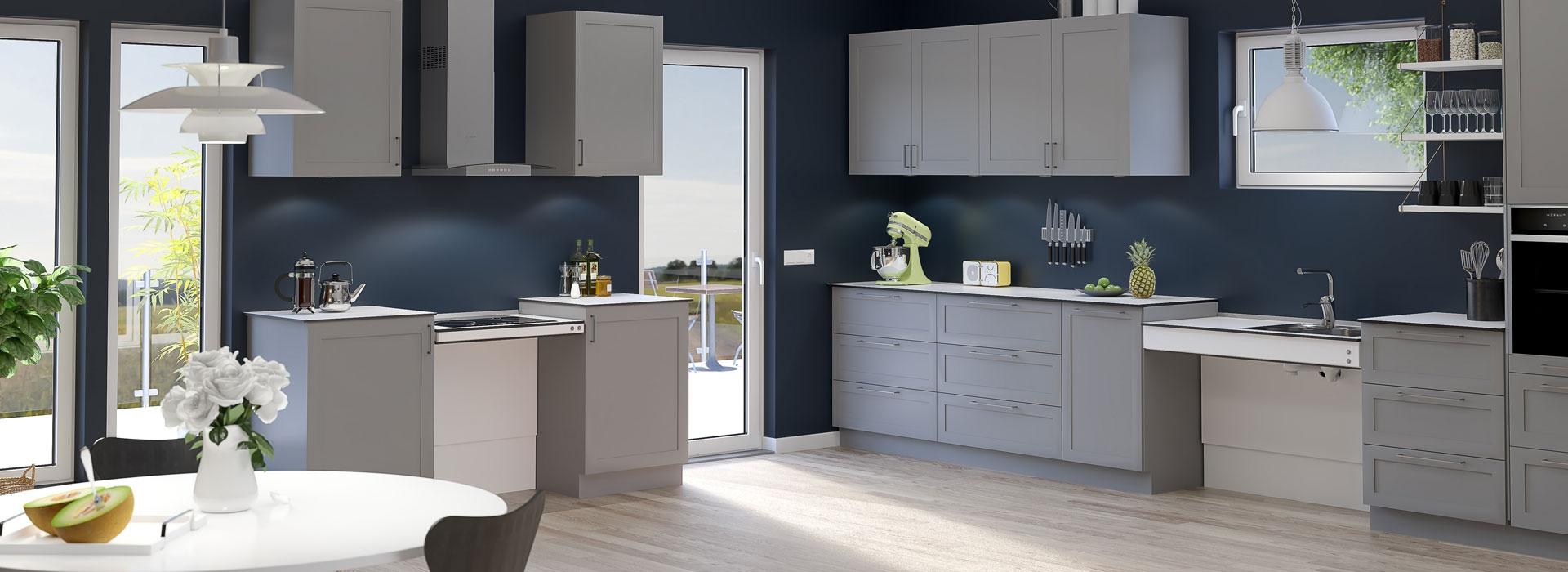 Sistemi di sollevamento per piani di lavoro cucina | Cucine ...