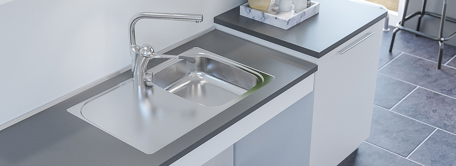 Inset Sinks With Shallow Bowl   Sinks & taps   Granberg ...