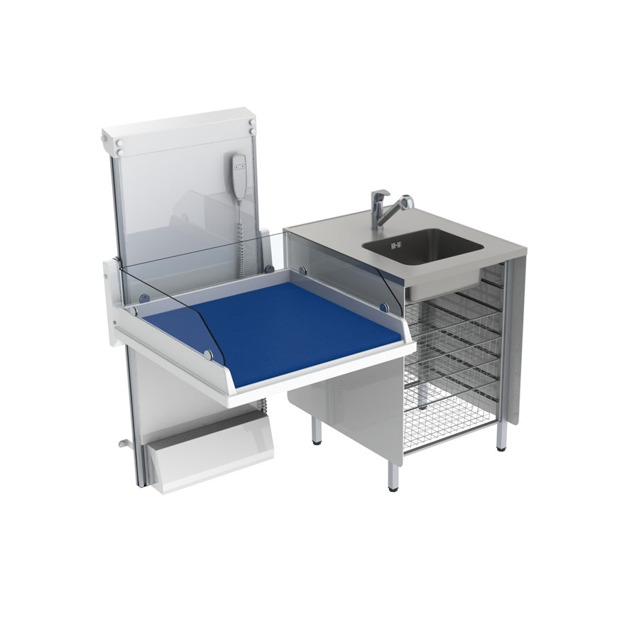 <b>Changing table combination 1 - Border height 20.0 cm</b>