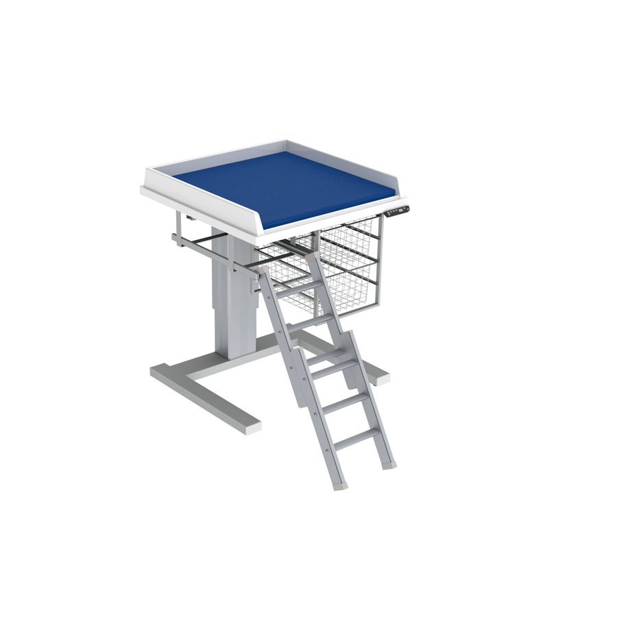 Changing table 333 - Ladder left, 80x80 cm