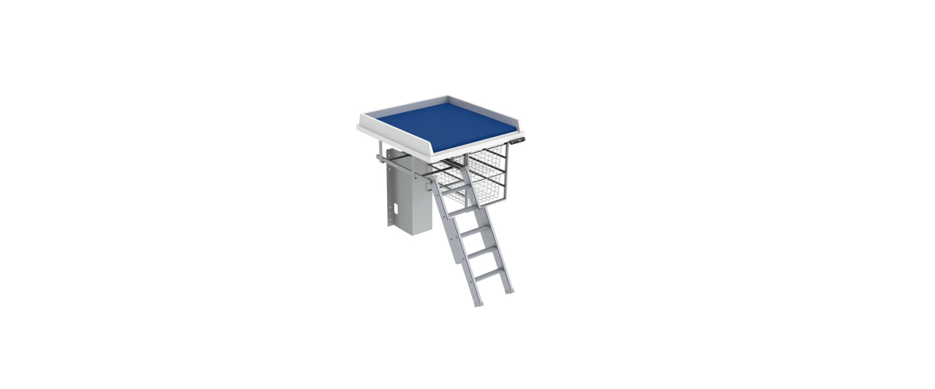 <b>Baby changing table 335 - Border height 5.0 cm</b>