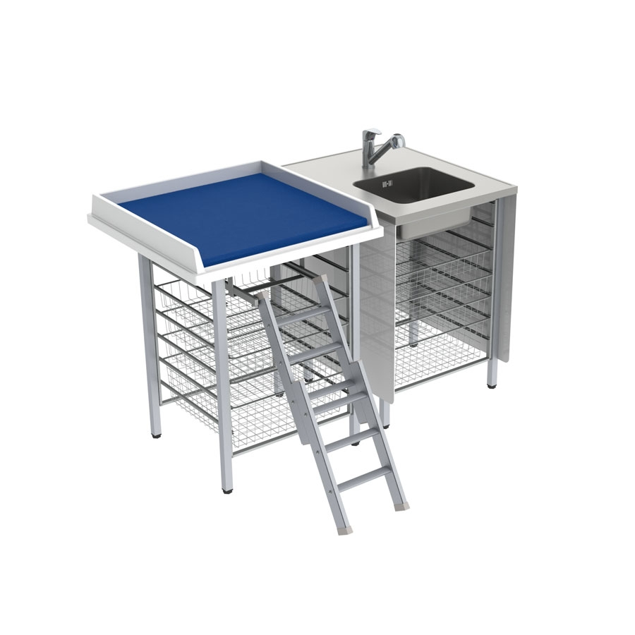 Nursing table combination 327-081-0
