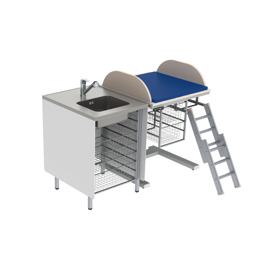 Baby changing table 332 - Combination 1