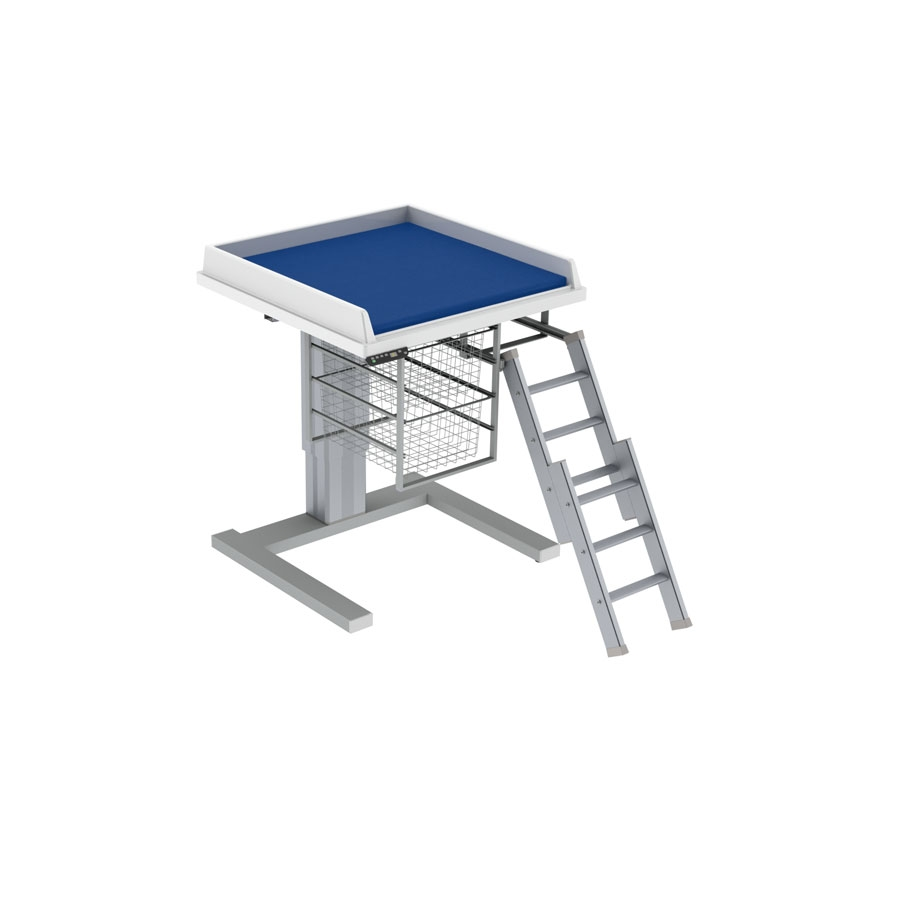 Changing table 333 - Ladder right, 80x80 cm