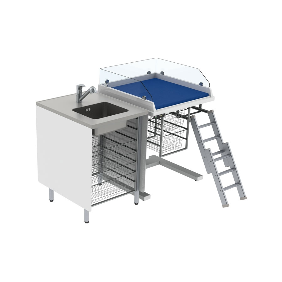 Baby changing table 333 - Combination 1