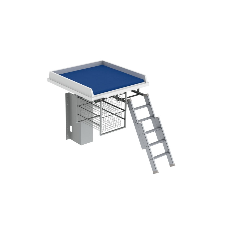 Changing table 335 - Ladder right, 80x80 cm