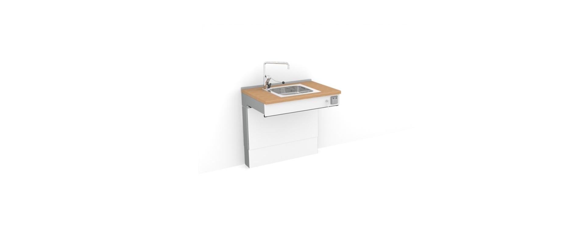 <b>Height adjustable sink 6300-ES10</b>
