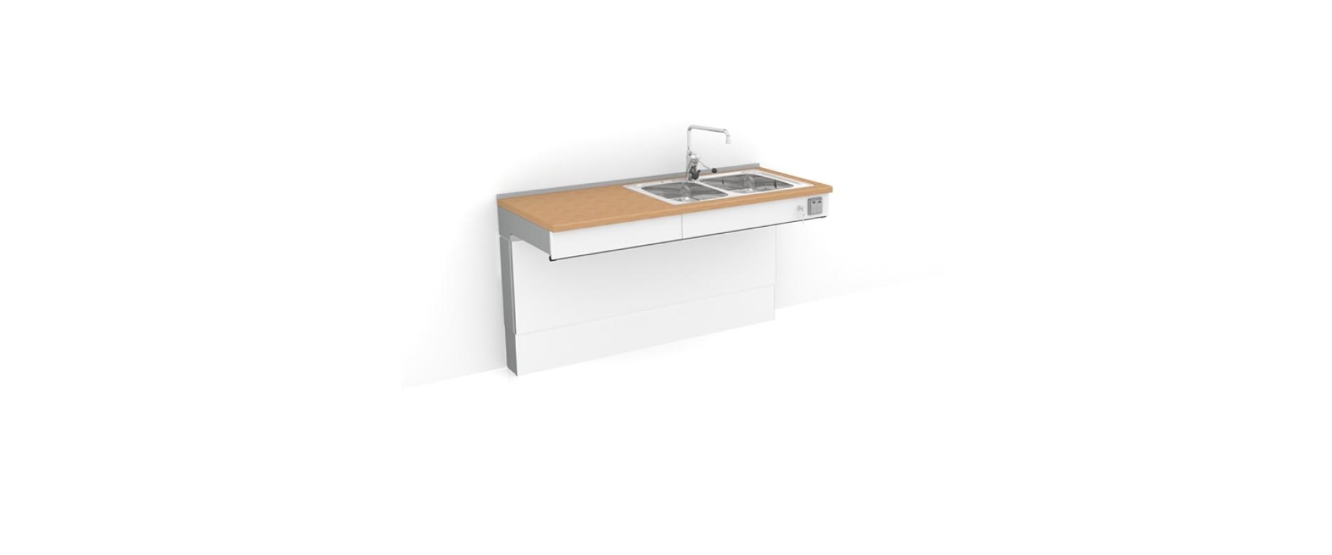 <b>Height adjustable sink 6300-ES30</b>