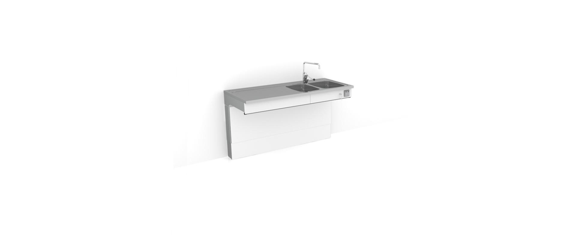 <b>Height adjustable sink 6300-ESH</b>