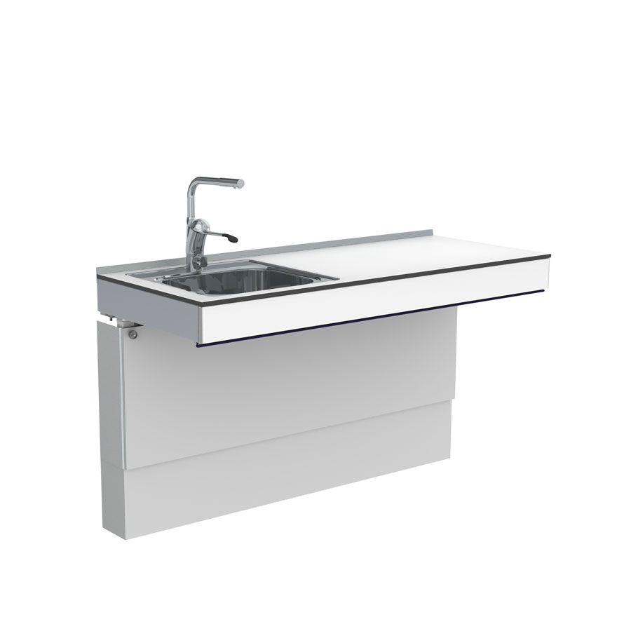 Height adjustable sink 6300HA-ES11