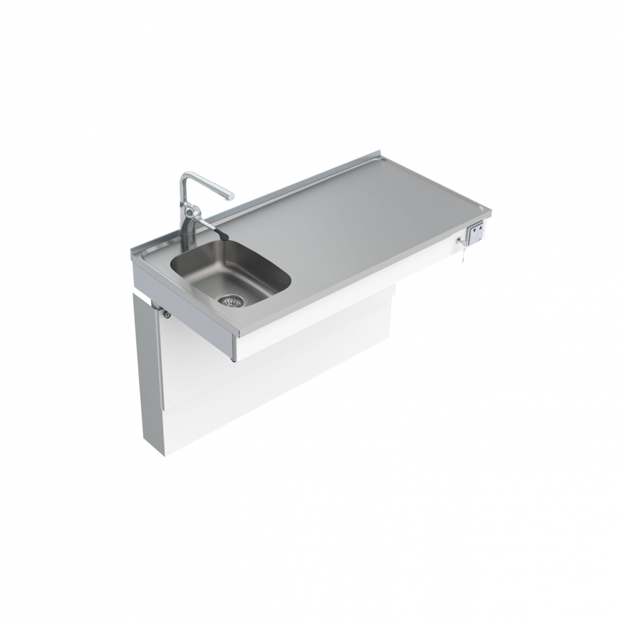 Wall Mounted Motorised Sink Module Mini 6300-ESF