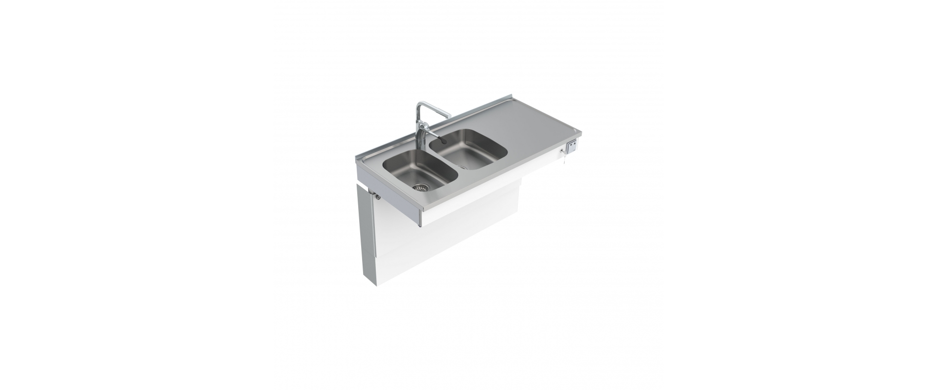 <b>Wall Mounted Motorised Sink Module 6300-ESH</b>