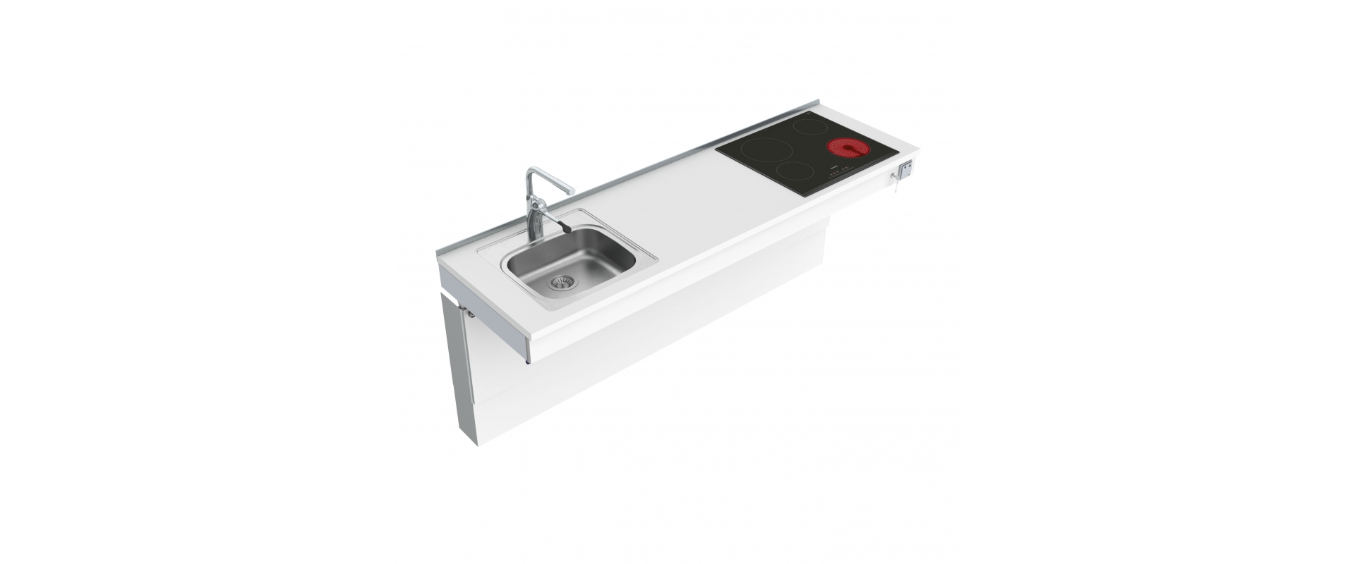 <b>Wall Mounted Motorised Combi kitchen module 6300-ES11S4</b>