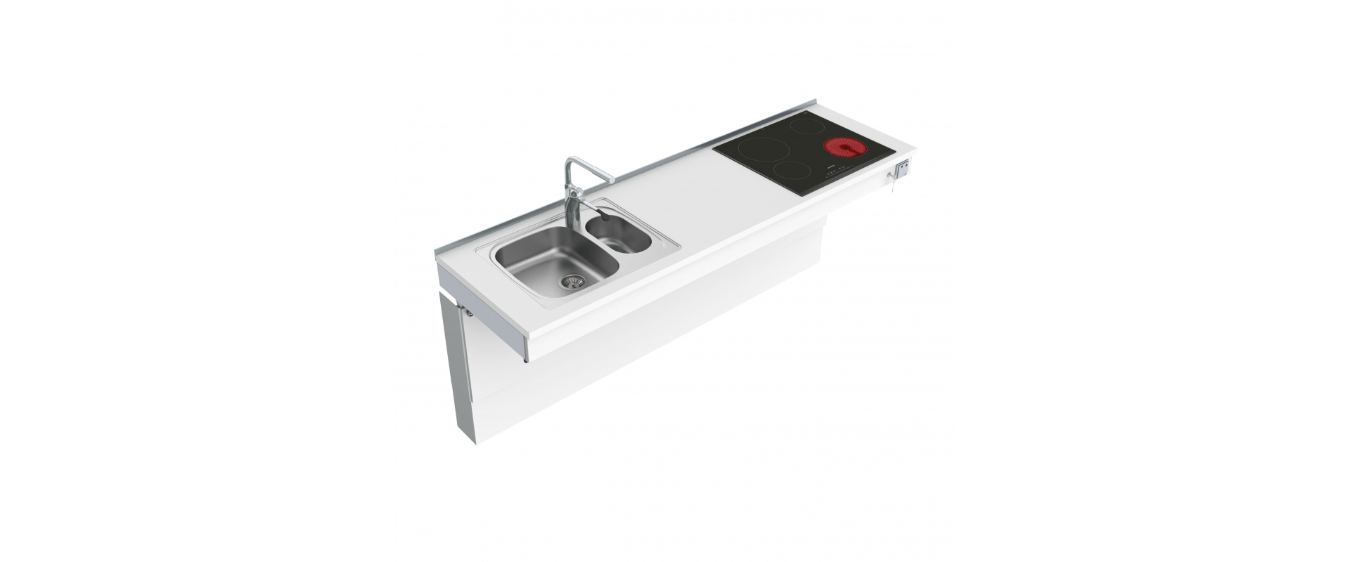 <b>Wall Mounted Motorised Combi kitchen module 6300-ES20S4</b>