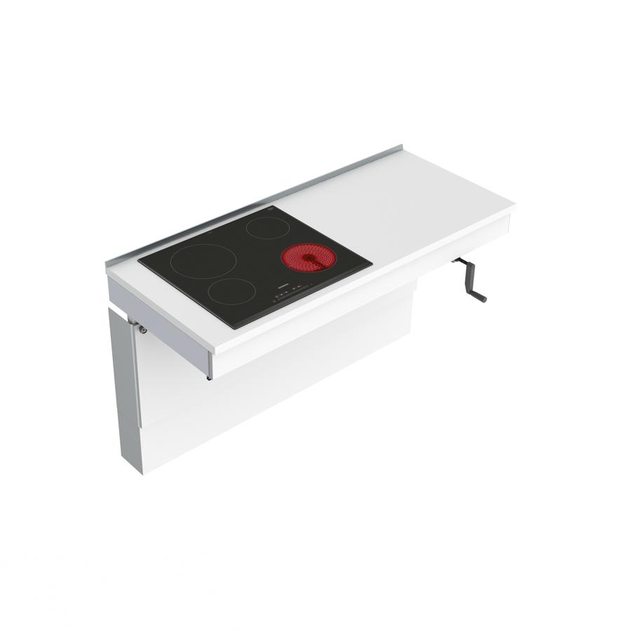 Väggmonterad Vevbar Spishällsmodul 6350HA-S4