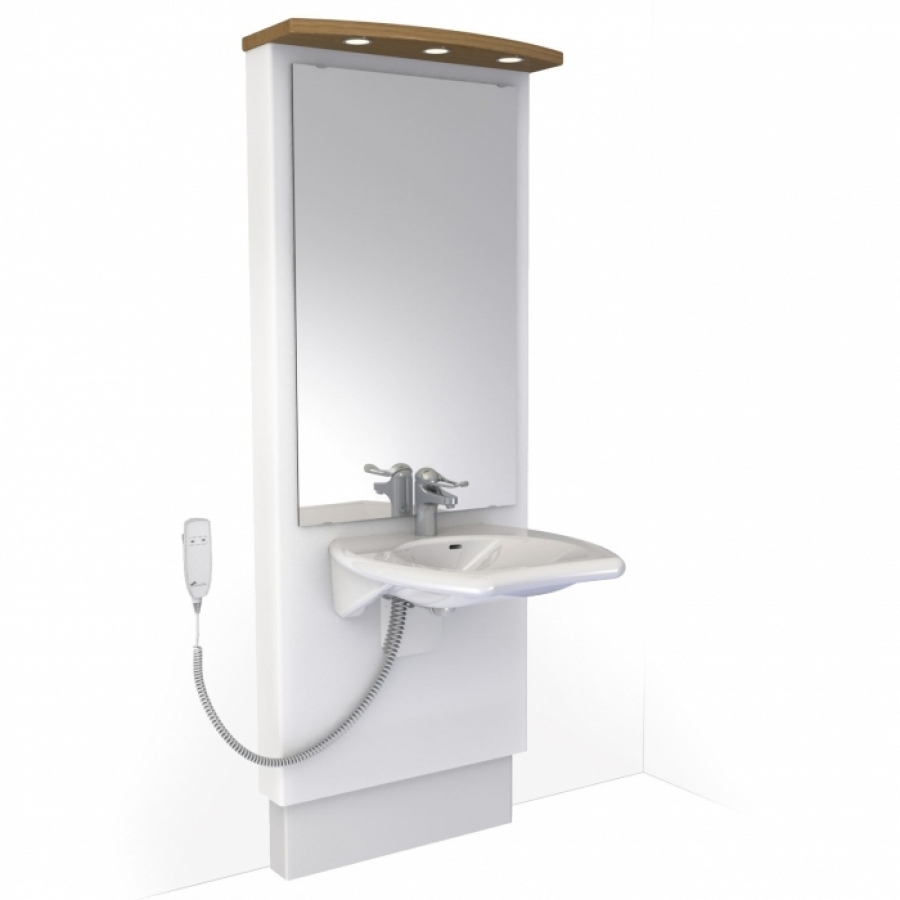 Washbasin lift - DESIGNLINE 417 | Electric height adjustable ...