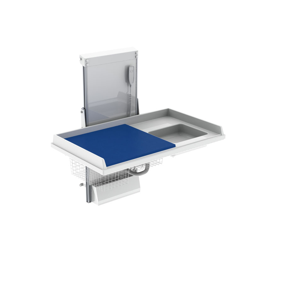 Changing table 334 laundry sink right - Build your own model, 140x80 cm