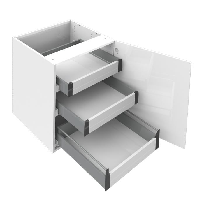 Bänkskåp med 3 innerlådor