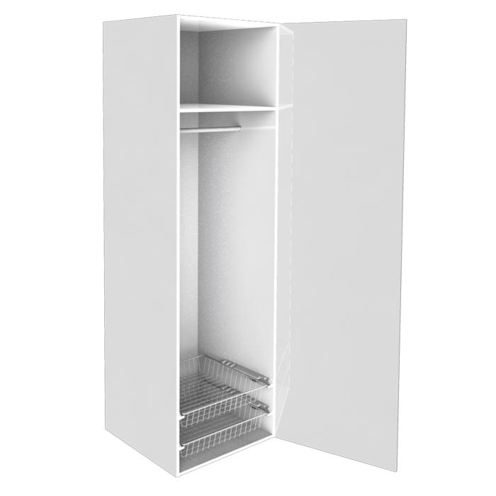 Garderobsdörrar 60 cm bred