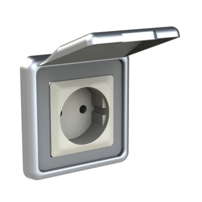 Power socket, ALU-Design