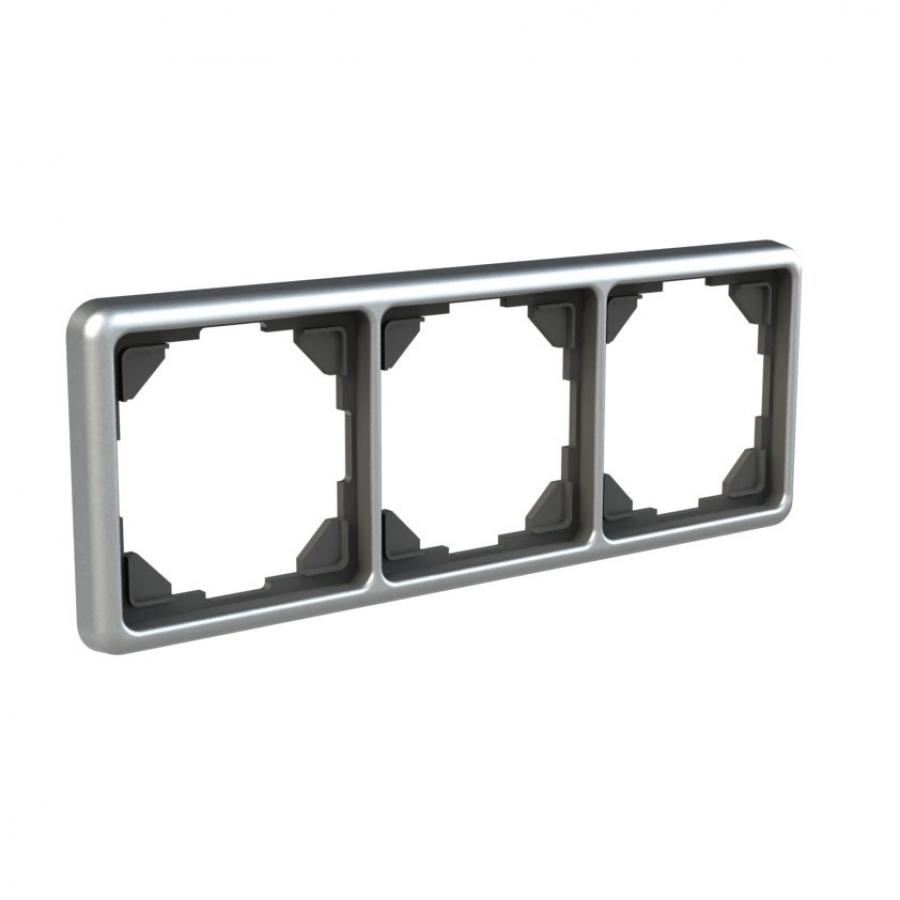 Three-compartment frame, ALU-Design