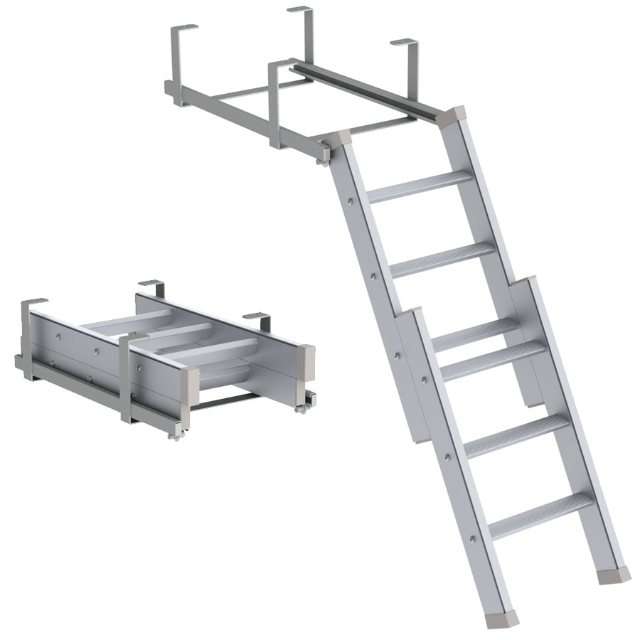 <b>Extendable ladder</b>