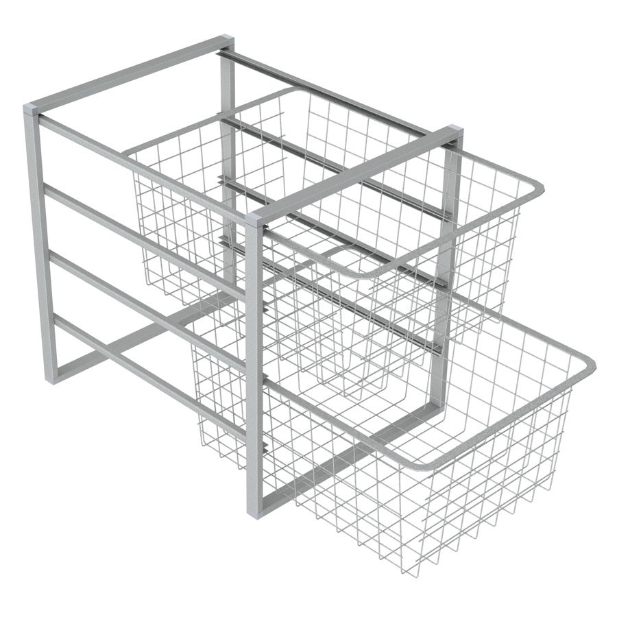 <b>Wire baskets to nursing tables</b>