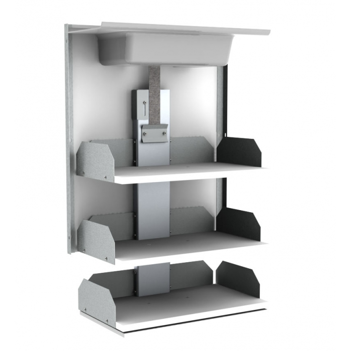 Wall Cabinet Lift - VERTI | Height adjustable frames for