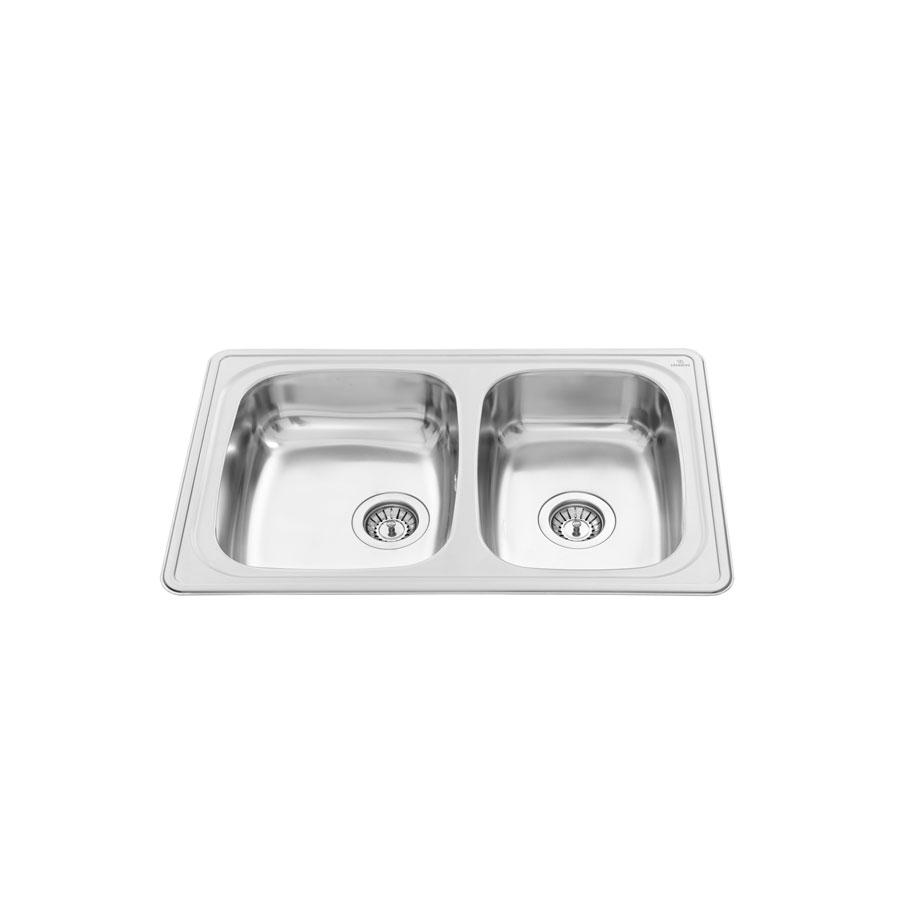inset kitchen sink stainless steel - granberg esi 12 | inset sinks