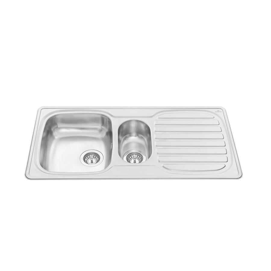 Inset Kitchen Sink Stainless Steel ES25   97.1 Cm