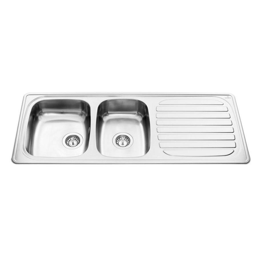 Inset Kitchen Sink Stainless ES35 - 120.6 cm | Inset Sinks With ...