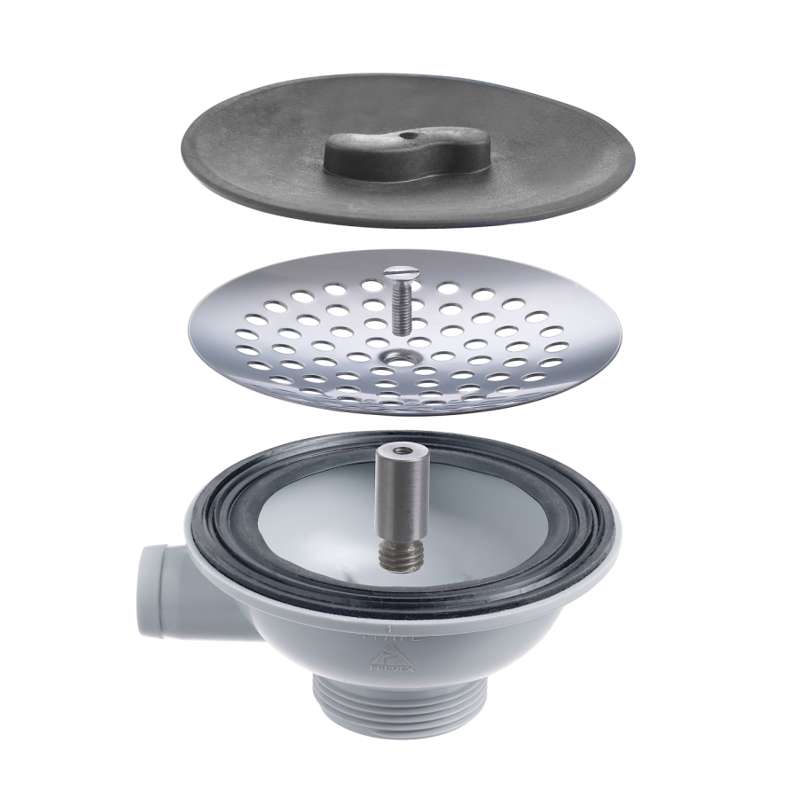 <b>Strainer package for sinks</b>