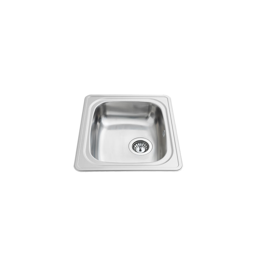 Inset Kitchen Sink Stainless Steel ES10 - 44.1 cm | Inset Sinks With ...