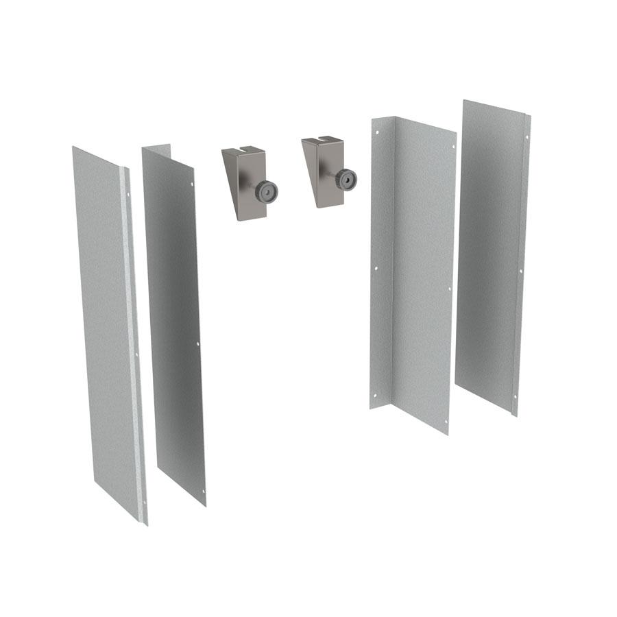 Fitting kit for cover panels (Baselift / Manulift)
