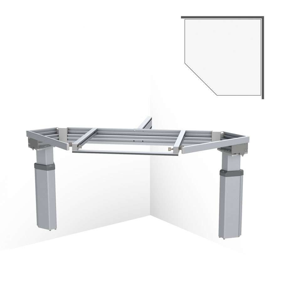 BASELIFT CORNER 6301LA, 45°- 90°, wall-mounted