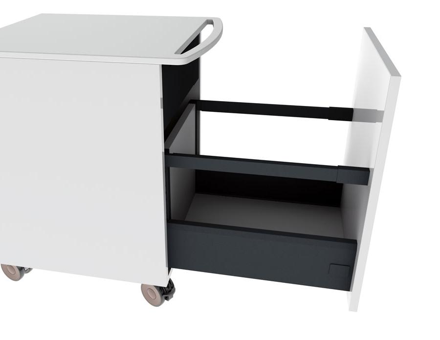 Mini Cabinet On Wheels Worktop, Cabinet On Wheels