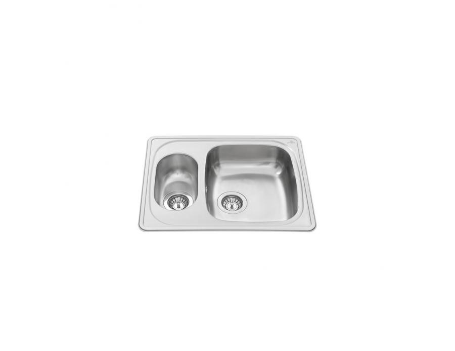 Inset Kitchen Sink Stainless Steel   ESI 11
