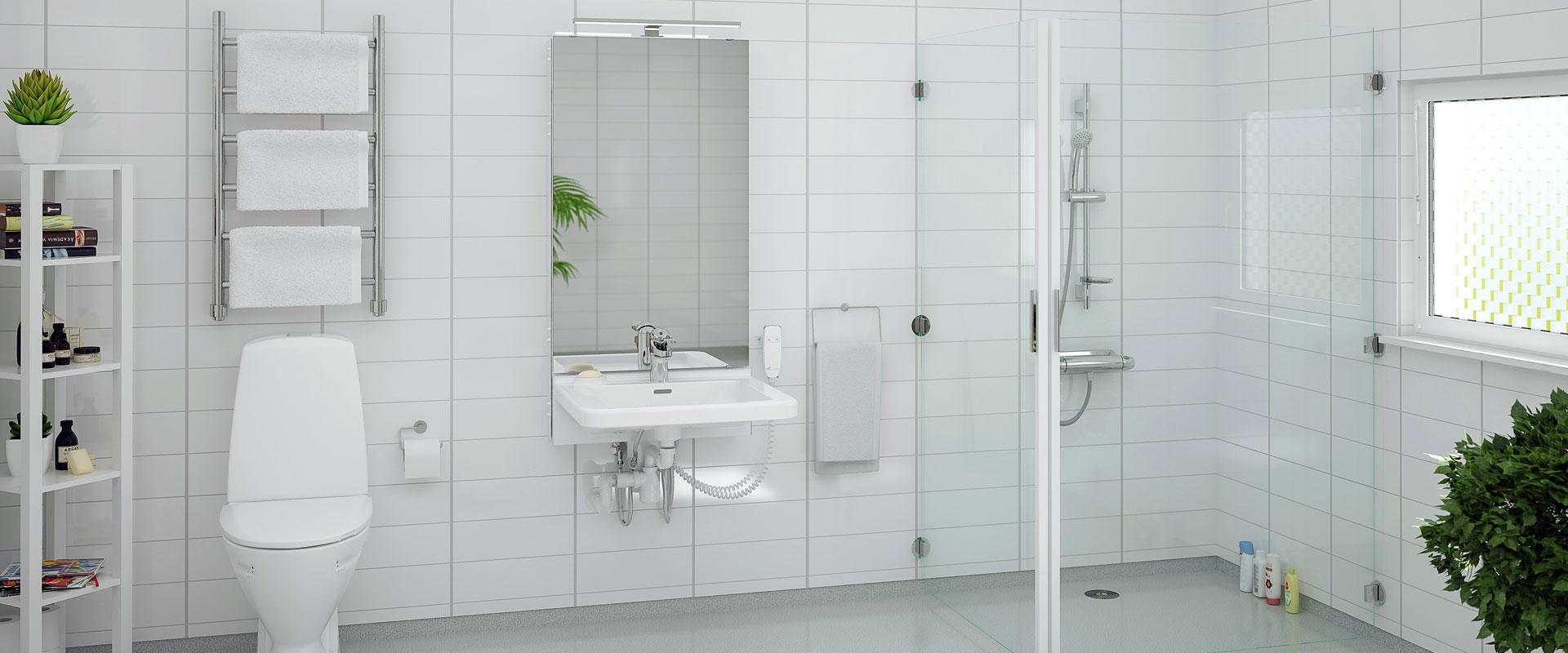Tvättställ till privata hem/bostadsanpassning