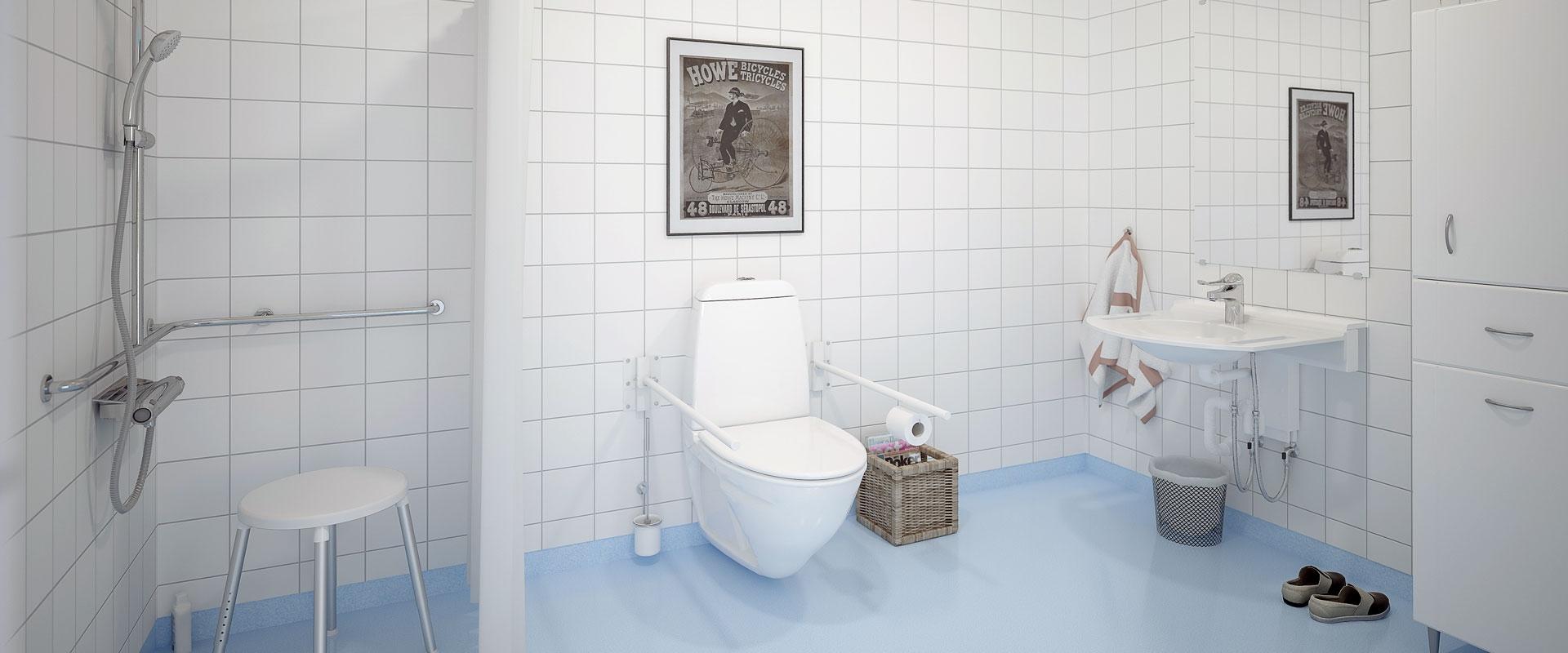 Tvättställ till äldreboende