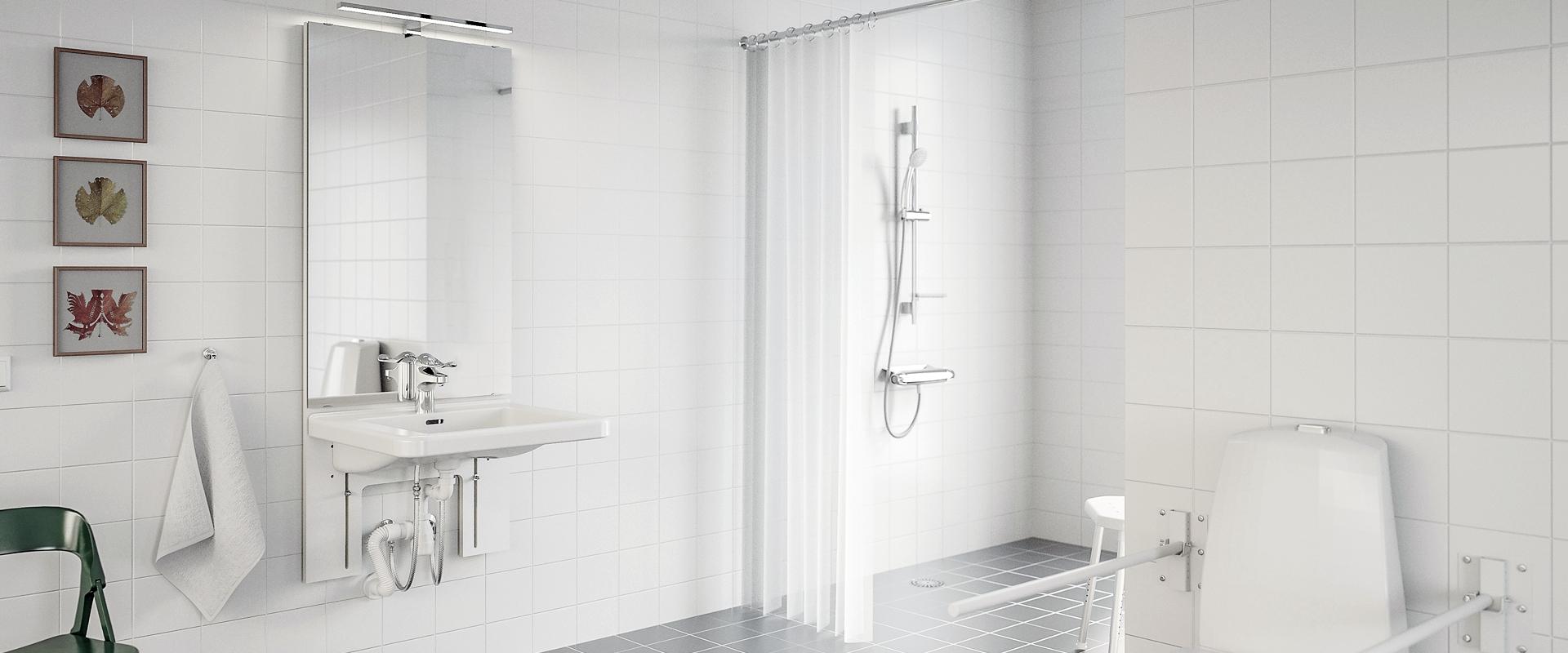 Wash basins to elderly homes