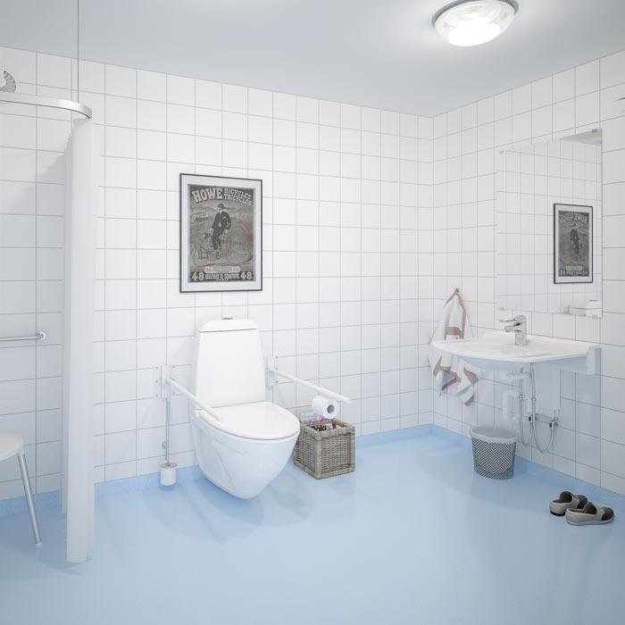 Manuellt höj- och sänkbara tvättställ - BASICLINE 406